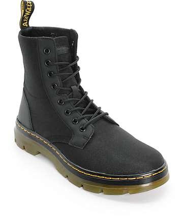 Dr. Martens Combs botas negras