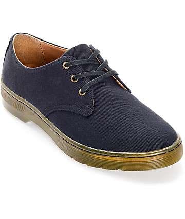 Dr. Martens Gizelle 3 Eye Black Oxford Shoes