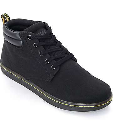 Dr. Martens Maleke Padded Collar Black Shoes