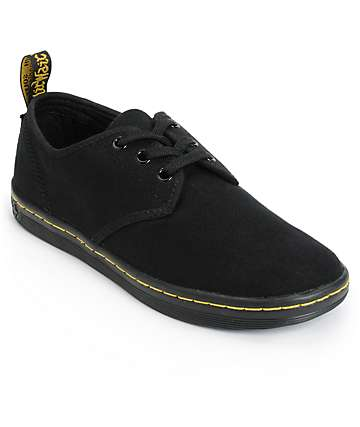 Dr. Martens Soho Black Canvas Shoes