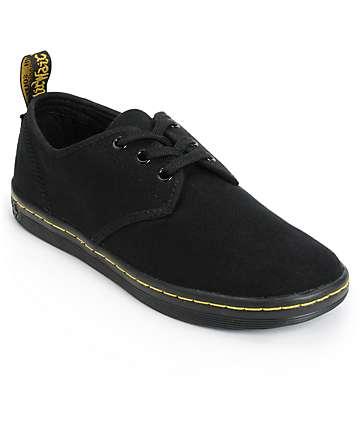 Dr. Martens Soho Black Canvas Shoes