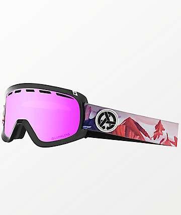 Dragon D1 OTG Iuna Tinta Asymbol gafas de snowboard de ion rosa