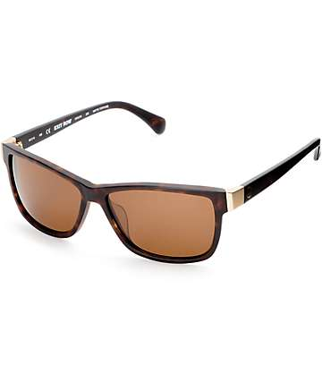 Dragon Exit Row Matte Tortoise & Bronze Sunglasses