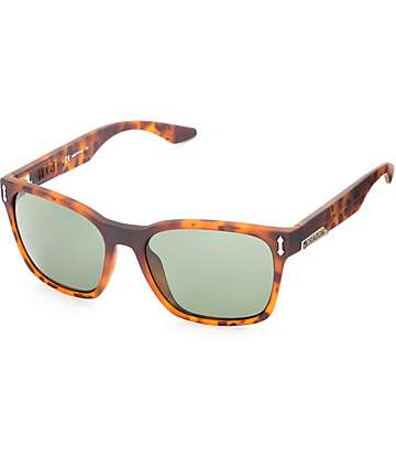 Dragon Liege G-15 Matte Tortoise & Green Sunglasses