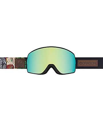 Dragon NFX2 Benchetler Smoke Gold Ion Snowboard Goggles