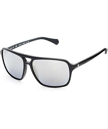 Dragon Passport Matte Black & Silver Sunglasses