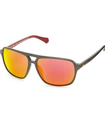 Dragon Passport Matte Magnet & Grey Sunglasses