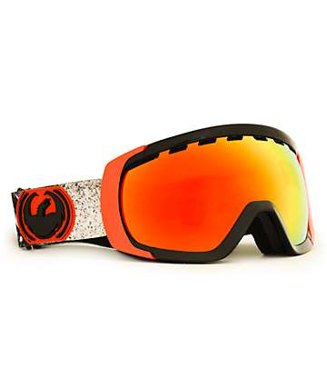 Dragon Rogue Monster Dap & Red Ionized Snowboard Goggles
