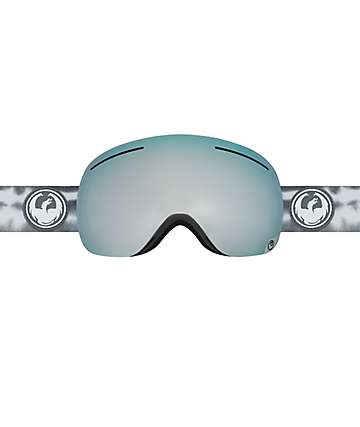 Dragon X1 Onus Grey Mirror Ionized Snowboard Goggles
