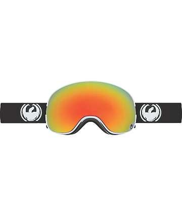 Dragon X2 Inverse máscara de snowboard en rojo Ion y negro