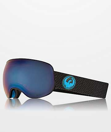 Dragon X2s Split Blue Ion Snowboard Goggles