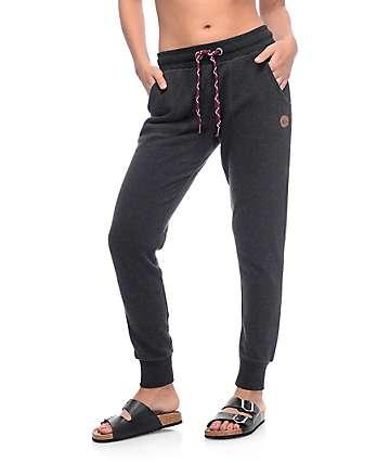 Dravus Aspen Black Jogger Pants