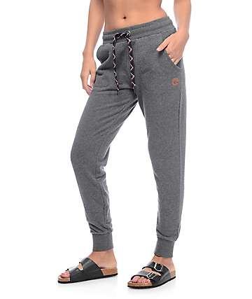 Dravus Aspen pantalones jogger en color carbón