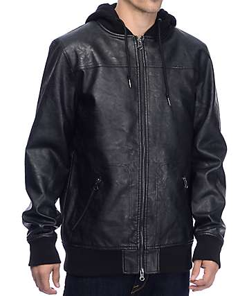 Dravus Backbreak Black Zip Up Jacket