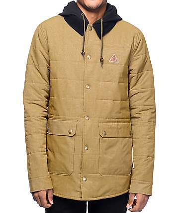 Dravus Bleak Tobacco Puffer Jacket