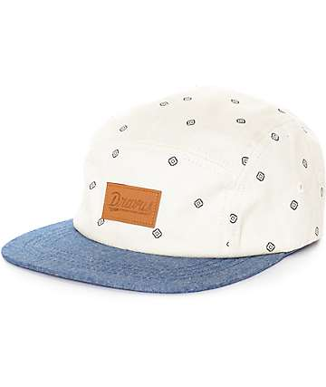 Dravus Bo Natural 5 Panel Hat