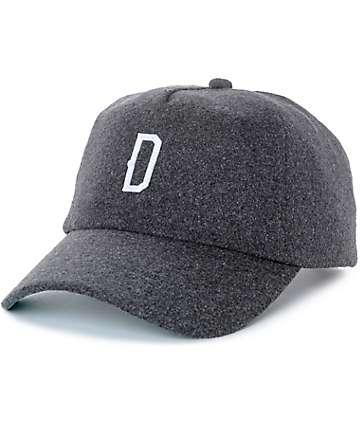 Dravus Bosky gorra béisbol de lana falsa en color plomo