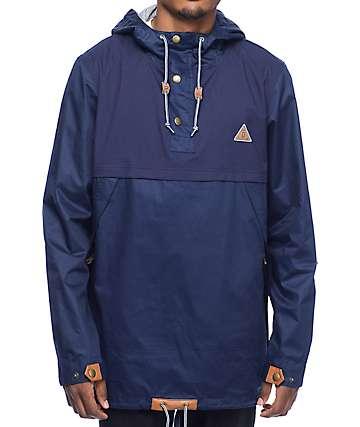 Dravus Brenner Navy Anorak Jacket