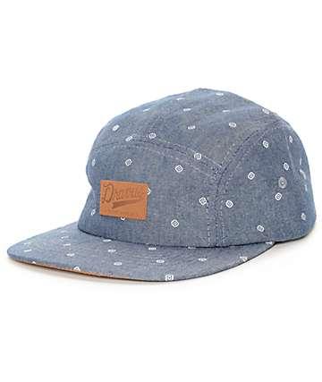 Dravus Brett 5 Panel Chambrey Hat