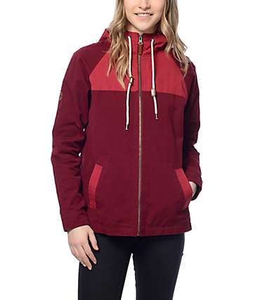 Dravus Cameron Blackberry Colorblock Jacket