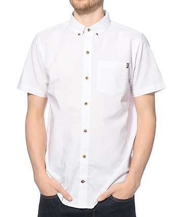 Dravus Clean Cut Oxford Button Up Shirt