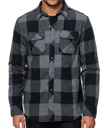 Dravus Cruller Buff Quilt Flannel Shirt