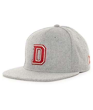 Dravus Dean Grey Strapback Hat
