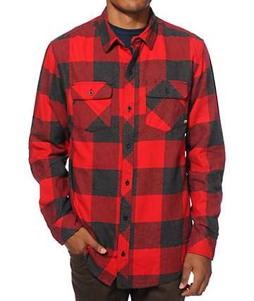Dravus Dosewallips Buffalo Plaid Flannel Shirt