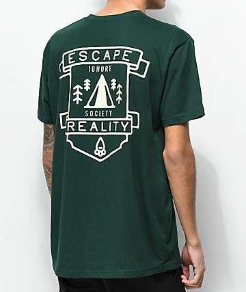 Dravus Escape Reality Green T-Shirt