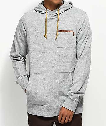 Dravus Evan Heather Grey Hoodie