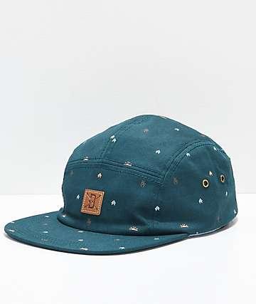 Dravus Far Out Camper Blue Five Panel Hat