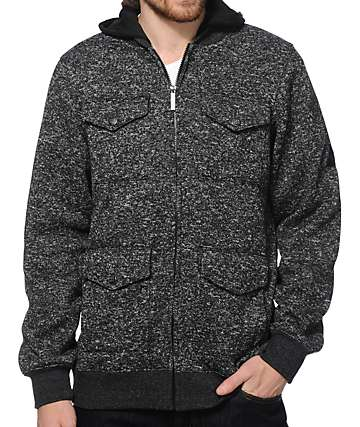 Dravus Field Day M65 Hooded Fleece Jacket