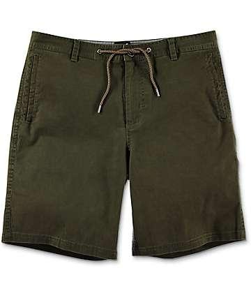 Dravus Gavin shorts chinos en verde olivo