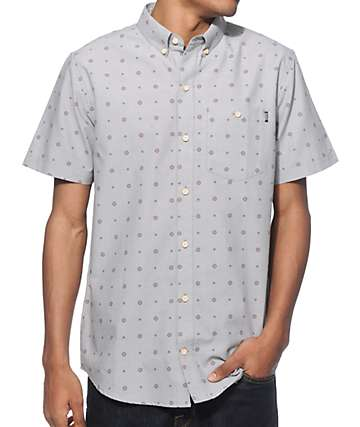 Dravus Hemlock Grey Button Up Shirt