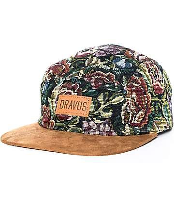Dravus Interwingled Floral Strapback Hat