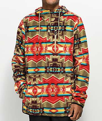 Dravus McKinnley Tribal Tech Fleece Hoodie
