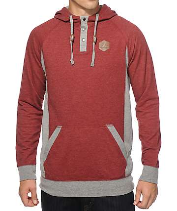 Dravus Mountain Hooded Henley Shirt