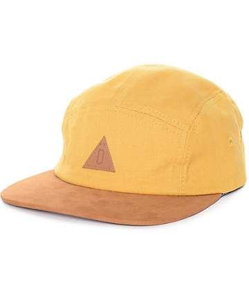 Dravus Mustard 5 Panel Hat