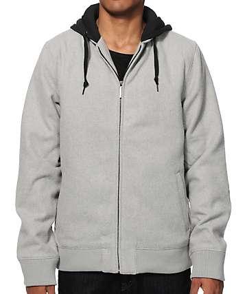 Dravus Oceans Wool Bomber Jacket