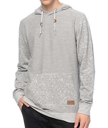 Dravus On The Move Grey Hoodie