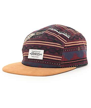 Dravus Panama 5 Panel Hat