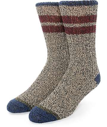 Dravus Pine Point Camp Crew Socks