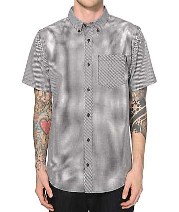 Dravus Point Gingham Button Up Shirt