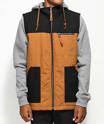 Dravus Prey Robe & Black Vest Hoodie