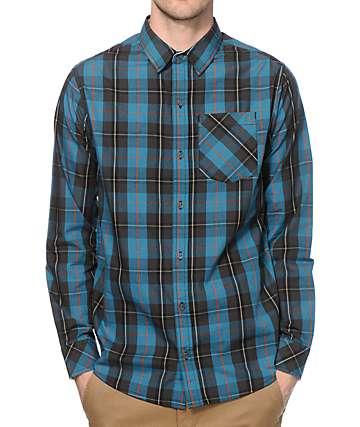 Dravus Sandbar Long Sleeve Button Up Shirt