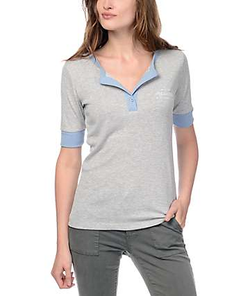 Dravus Serene Adventure Grey Top