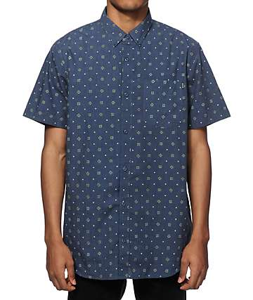 Dravus Sicily Fullard Print Button Up Shirt