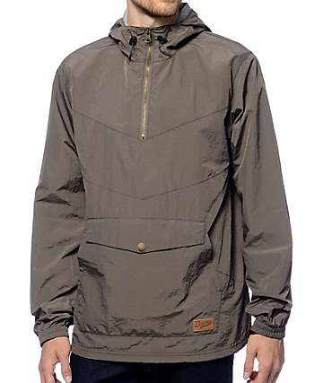 Dravus Sprawl Charcoal Anorak Jacket