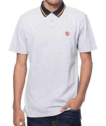 Dravus Study Group Grey Polo Shirt