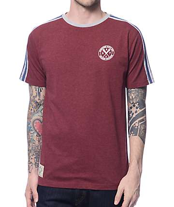Dravus The Game Burgundy Soccer Jersey T-Shirt